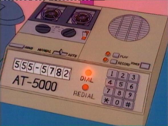 Homer Simpson's Autodialer