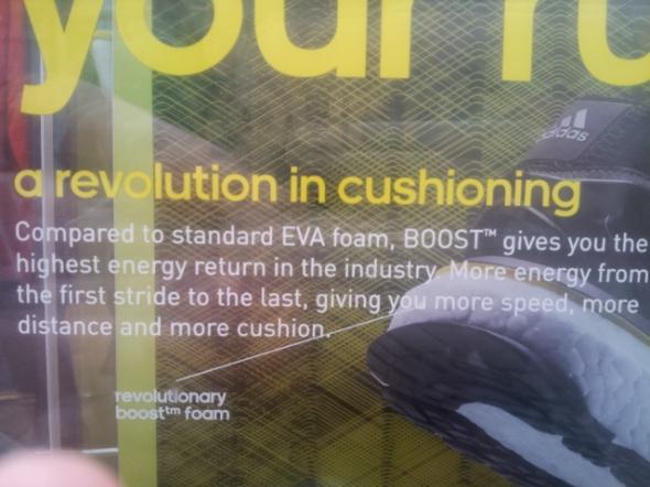 """Adidas Boost  - """"A revolution in cushioning"""""""